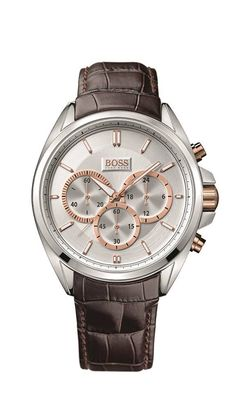 Classic yet sleek - chronograph #hugobosswatches #time