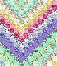 Sew a Color By Number Quilt! {free quilt pattern with printables} - Sew a Color By Number Quilt! {free quilt pattern with printables} Sew a Color By Number Quilt! {free quilt pattern with printables} Bargello Quilt Patterns, Bargello Quilts, Quilting Patterns, Patchwork Patterns, Patchwork Quilting, Block Patterns, Quilting Tips, Canvas Patterns, Machine Quilting