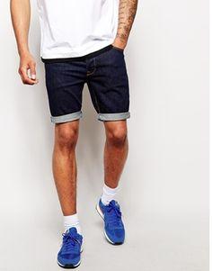 ASOS Denim Shorts In Skinny Fit