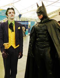 Batman smells like sweaty leather.