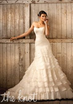 Check out this #weddingdress: D1319 by Essense of Australia via iPhone #TheKnotLB from #TheKnot