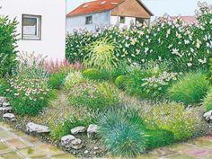65 besten vorgarten bilder auf pinterest in 2018 backyard patio gardens und landscaping. Black Bedroom Furniture Sets. Home Design Ideas