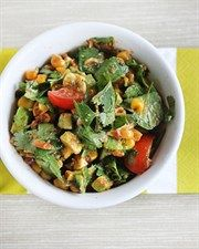 Roast Corn Salsa - have with low protien herb crackers.. Yum as!