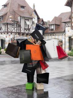 © Kate Fichard Losing You, Xmas, Shoulder Bag, Prints, Filter, Portrait, Shopping, People, Humor
