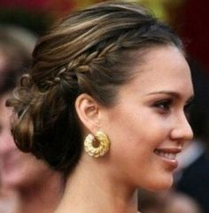Wedding Hairstyles, Celebrity Hairstyles, Wedding Hairstyles For Long Hair, Hair Updos My Hairstyle, Pretty Hairstyles, Braided Hairstyles, Wedding Hairstyles, Braided Updo, Wedding Updo, Bridesmaid Hairstyles, Bun Braid, Bun Updo