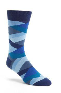 Bugatchi Stripe Socks available at #Nordstrom