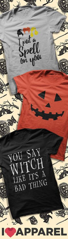 Orders over $50 Get FREE Shipping! Check out our huge selection of halloween shirts!