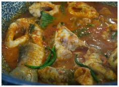 Indonesian Medan Food: Asam Keung Ikan Jurung (Sour and Spicy Mahseer)