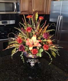 Small Tuscan Centerpiece - Krista's Floral Creations