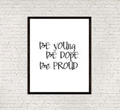 Be youngInspirational quoteMotivational by mixarthouse on Etsy