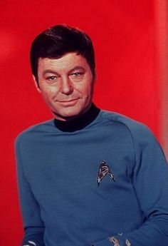 DeForest Kelley - 1967 My favorite all time character from ALL OF THE the Star Trek series.