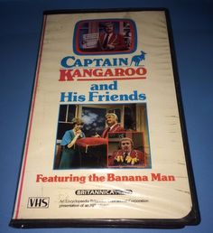 CAPTAIN KANGAROO and His Friends - Featuring the Banana Man MPI Vhs Clamshell