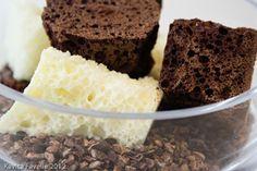 Homemade chocolate aero by Claude Bosi