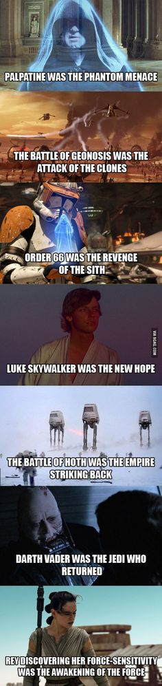 Pretty much (Revenge of the Sith was even more, but yah)