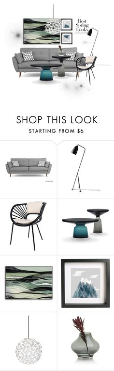 Best spring looks by explorer-14472255834 on Polyvore featuring interior, interiors, interior design, home, home decor, interior decorating, David Francis Furniture, Gubi, Crate and Barrel and H&M