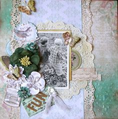 """Fun """"C'est Magnifique September Kit""""  DT - Scrapbook.com"""