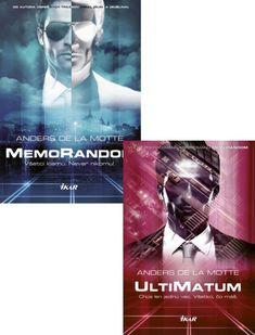 Kniha: UltiMatum + MemoRandom KOMPLET (Anders de la Motte) | bux.sk Movies, Movie Posters, Author, Films, Film Poster, Cinema, Movie, Film, Movie Quotes