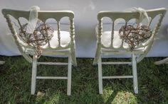 Detalle para las sillas @Mar de Flores. #casildasecasa @Casilda Richard Se Casa