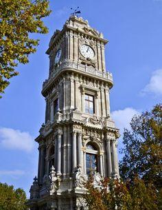 Dolmabahçe Clock Tower, Istanbul, Turkey