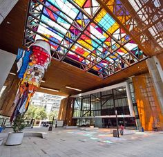 visit the Centro Cultural Gabriela Mistral in Santiago Places To Travel, Places To See, Cheap Things To Do, 5 Things, South America Travel, Down South, Travel Planner, Adventure Is Out There, Lonely Planet