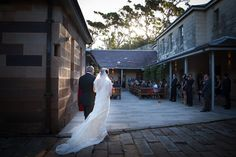 Wedding Ceremony at The Tea Room, Gunners' Barracks | Sydney | Image: Southern Light Photography