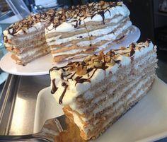 Mascarponés diótorta maradék tojásfehérjékből Hungarian Desserts, Hungarian Recipes, Desserts To Make, Sweet Desserts, Cake Cookies, Cupcake Cakes, Smoothie Fruit, Cookie Recipes, Dessert Recipes