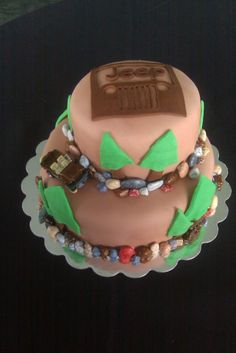 Jeep Groom's Cake