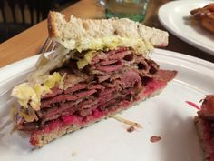 Dai Due - easily the best pastrami sandwich I've ever had. The smoked meat reminded me of the flavor of Franklin or La Barbecue