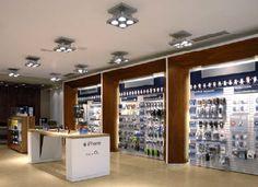 Carphone Warehouse and Phone House - High Technology Lighting - Shop Lighting