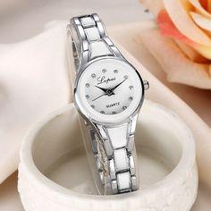 Women Wristwatch Stainless Gold