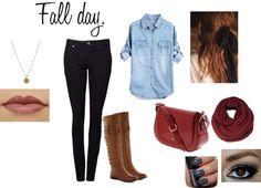 """Fall day."" by sandra-estrada on Polyvore"