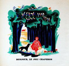 My Vintage Avenue !!! 50's and 60's illustrations !!!: Chansons de l'herbe et de la rosée, illustrated by Maurice Tranchant in 1945 :)