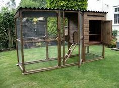 This cage has lots of room to run around and play...for the days when bunny/bunnies are outside.