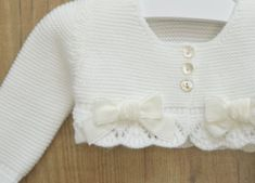 Gardenias, Bolero, Christening Gowns, Baby Knitting Patterns, Baby Sewing, Baby Dress, Girl Outfits, Beige, Crop Tops