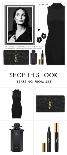 """""""My Look"""" by girl-forever-638 ❤ liked on Polyvore featuring Yves Saint Laurent and Gucci"""