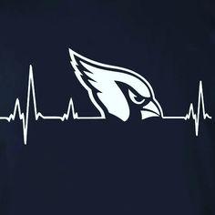 Arizona Cardinals Heartbeat. #BirdGang #AZLadyBirds  ❤ 5/2016