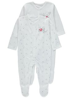 Disney 2 Pack Winnie the Pooh Made with Love Sleepsuits , read reviews and buy online at George at ASDA. Shop from our latest range in Baby. We've made this ...