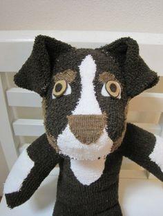 Reserved for Diane  Custom Order Sock Dog by scooterandgoose, $35.00