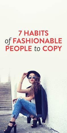 fashion habits to copy