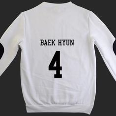 2017 Top Fashion Letter Fashion Chiffon Wool Full New Kpop Unisex Exo Sbs T-shirt Sweater Miracles Cotton Hoodies Exo Products