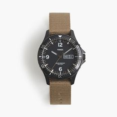 J.Crew Gift Guide: men's Timex® for J.Crew watch.