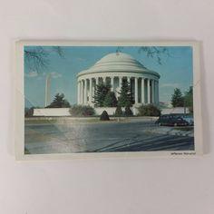 Postcard Souvenir Folder Washington DC LB Prince Co. Inc Fairfax Virginia VTG by KoolKoolThangs on Etsy
