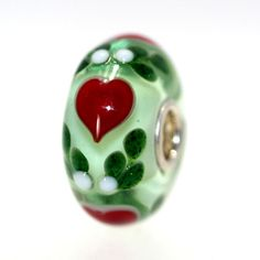 Love the green glitter! Trollbeads Gallery - Classic Unique 8691, $45.00 (http://www.trollbeadsgallery.com/classic-unique-8691/)