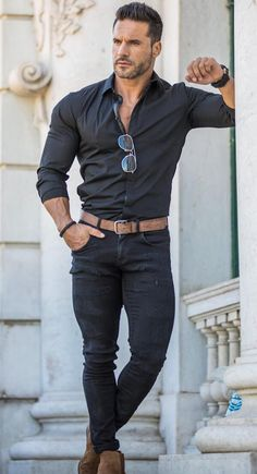 Style vestimentaire homme sportif 21 New ideas Stylish Mens Outfits, Casual Summer Outfits, Outfit Summer, Mode Masculine, Business Casual Men, Men Casual, Casual Jeans, Casual Boots, Herren Outfit