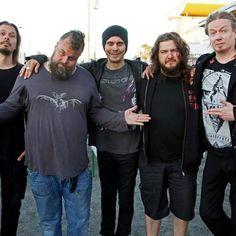 """#HIM with their new drummer Jukka """"Kosmo"""" Kröger"""