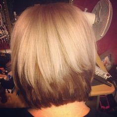 Blonde hair with dark brown underneath. Really want to do ...