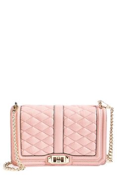 This quilted Rebecca Minkoff crossbody is truly elegant.