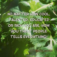 No matter how cool, talented, educated or rich you are, how you treat people tells everything! @emotions_fromtheheart . . . . #emotions_fromtheheart #emotionsbyemly  #emly8606 #beautifulquotes #quotestagram #quotelove #lovequotes #love #lovelife #lovehim #loveatfirstsight #loveislove #lovestory #loveforever #emly8606 #beautifulquotes #quotestagram #quotelove #lovequotes #love #lovelife #lovehim #loveatfirstsight #loveislove #lovestory #loveforever #quotesforlife #quotestags #quotesaboutlife…