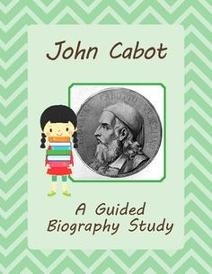 Guided Biography Study - Explorer John Cabot $