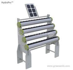 HydroPro System -- hydroponics system powered by solar